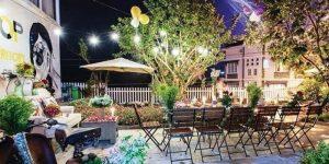 Villa Đà Lạt D061 - Sân vườn xanh