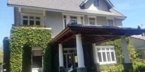 Villa Đà Lạt D099 - Khuôn viên rợp bóng xanh mát