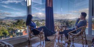 Villa Đà Lạt D101 - Phòng kính, view thung lũng