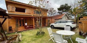 Villa Đà Lạt D148 - Nhà gỗ cực chill