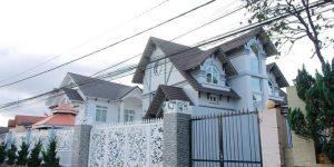 Villa Đà Lạt D165 - Biệt thự kiến trúc châu Âu