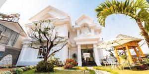 Villa Đà Lạt D180 - Kiến trúc kiểu Pháp, khuôn viên thoáng đạt