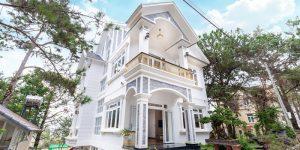 Villa Đà Lạt D215 - Villa nghỉ dưỡng cao cấp, khuôn viên 500m2