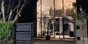 Villa Đà Lạt D250 - Villa kính độc đáo, tone xám đen huyền bí