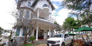 Villa Đà Lạt D255 - Villa nghỉ dưỡng cao cấp, sân vườn rộng