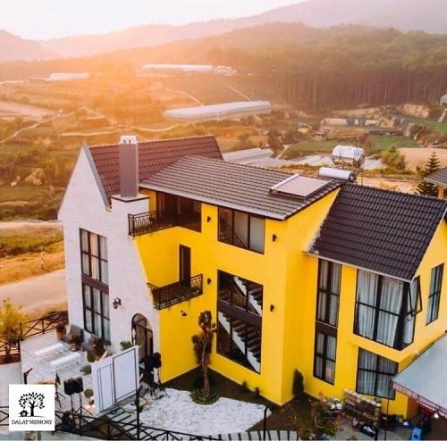 Villa Đà Lạt D052 - View rừng thông, thiết kế mới