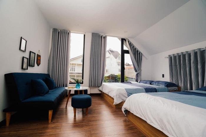 Villa Đà Lạt D056 - Phòng ngủ