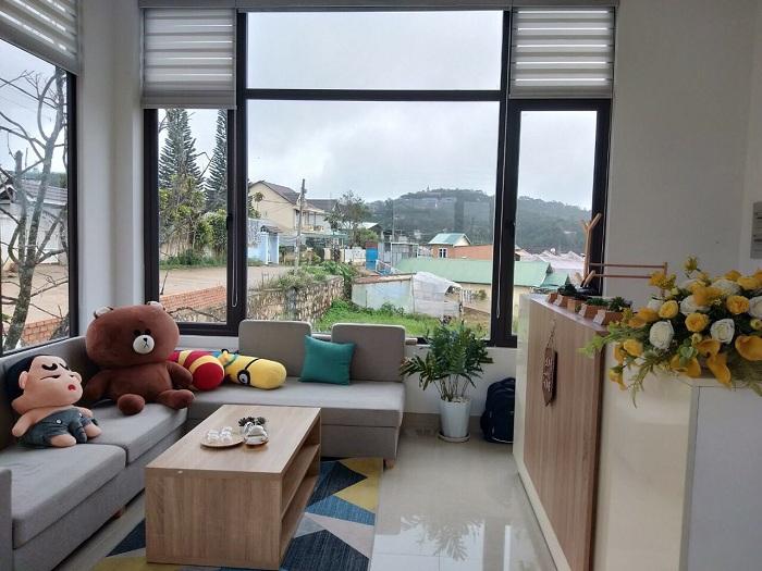 Villa Đà Lạt D056 - Phòng khách