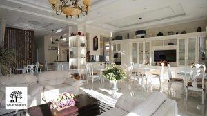 Toàn cảnh phòng khách Villa Đà Lạt D051