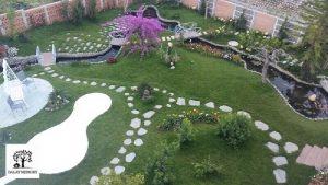 Sân vườn xanh Villa Đà Lạt D051