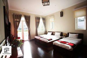 Phòng ngủ Villa Đà Lạt D051